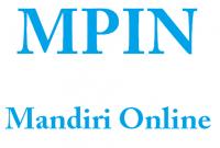 mpin mandiri online