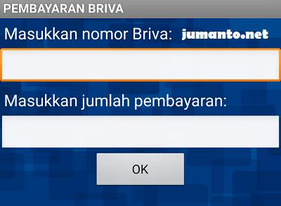 bayar bpjs kesehatan via mobile banking bri